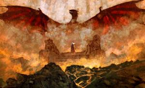 Queen of Ashes by AnatoFinnstark