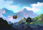 Howl's Moving Castle by AnatoFinnstark