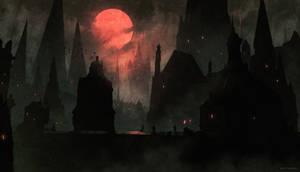Yharnam 2 ( Bloodborne ) by AnatoFinnstark