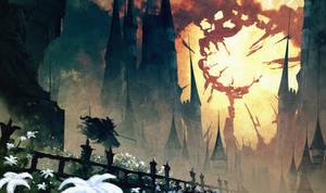 Dead Sky ( Bloodborne ) by AnatoFinnstark