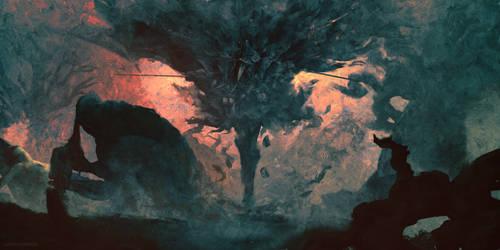 The Hunt ( Bloodborne ) by AnatoFinnstark