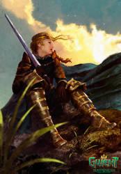 Meve ( The witcher ) by AnatoFinnstark
