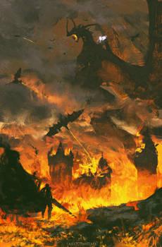 Forever burning neck ( Berserk )