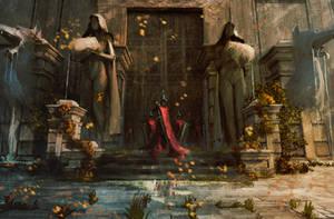 Sacred garden ( Dark Souls study )