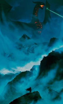 Ancalagon vs Earendil 2 ( Tolkien )