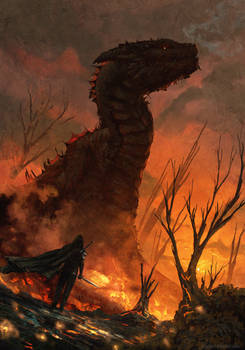 Red Dragon ( the witcher )