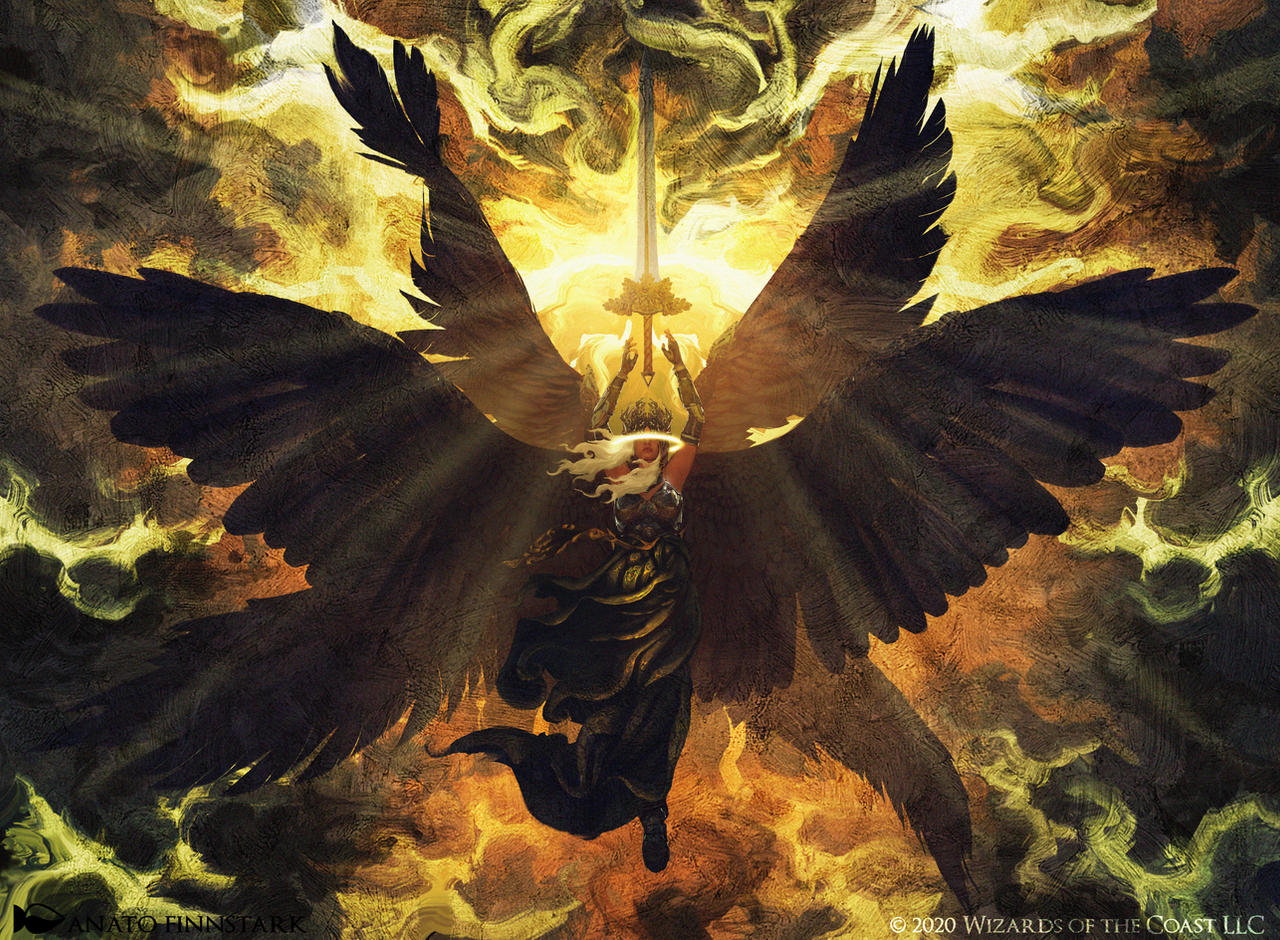 Magic the gathering : Admonition Angel