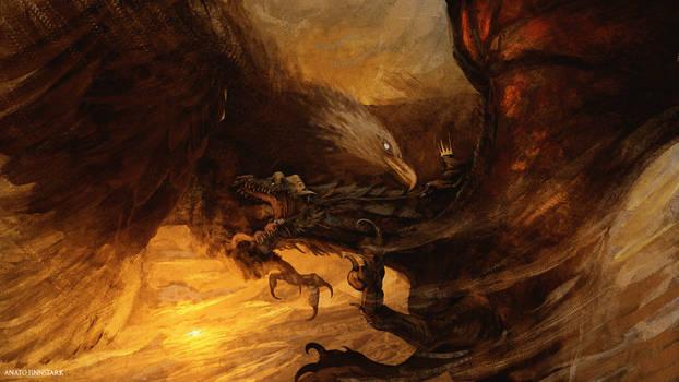 Eagle vs Nazgul