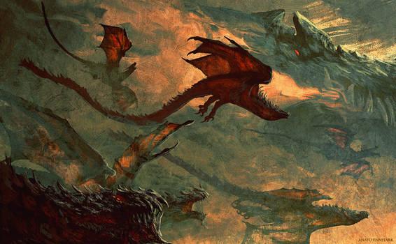 Dragon of the war of wrath ( silmarillion )