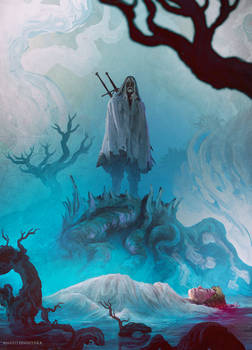 THE WITCHER: WITCH'S LAMENT #3 ( OFFICIAL COVER )