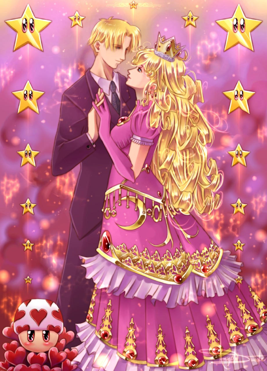 Part 14 / 4 Prince_and_Princess_Peach_by_soul_sama