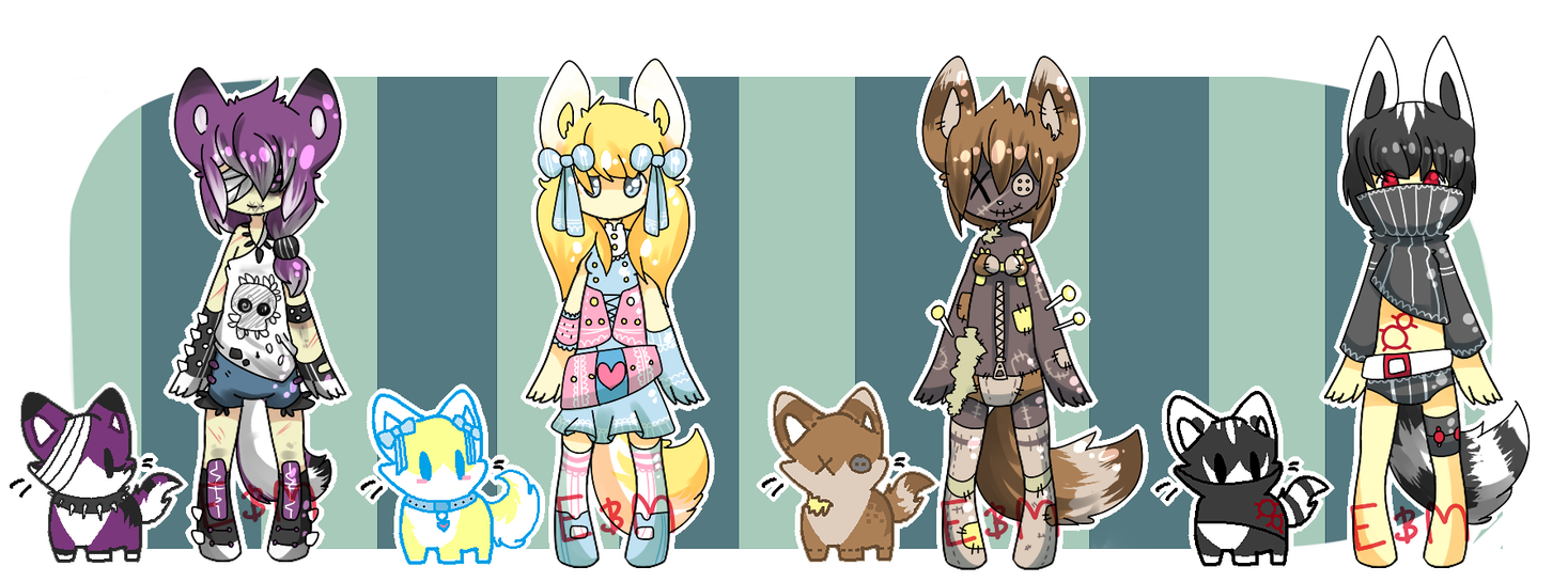 Meeyrie Adopt Collab {SET 3}{CLOSED} by Eeyrie