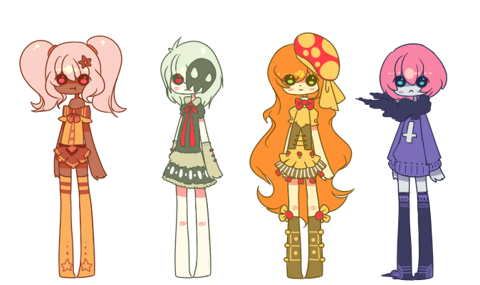Pokejinkas {set 1} {closed} by Eeyrie