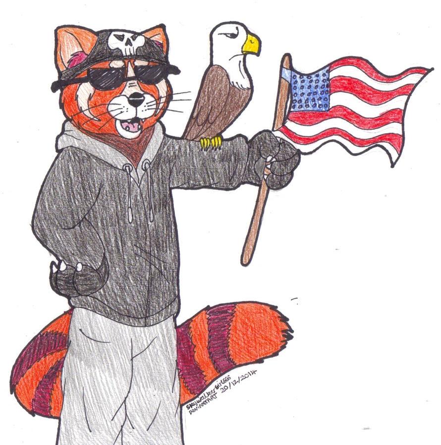 TBFP: The most AMERICAN Panda! by SkywalkerGirl666