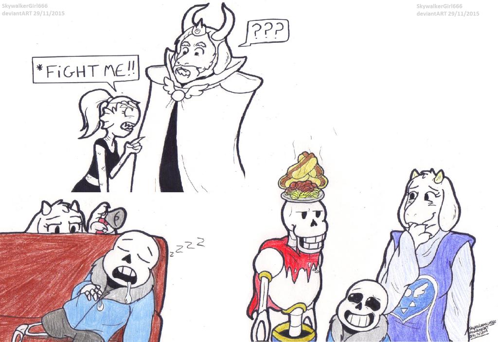Undertale Doodles 2 By SkywalkerGirl666 On DeviantArt