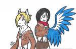 SnK TF: Unicorn and Harpy