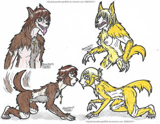 Attack On Lycan by artistNJC