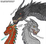 Targaryen Dragons: The Conquerers by artistNJC
