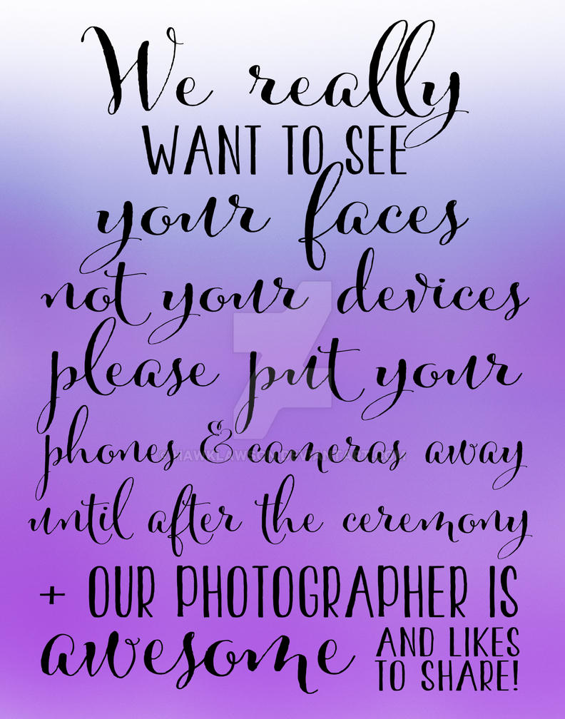 Wedding Photography 5 - Purple by hawklawson