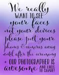 Wedding Photography 5 - Purple