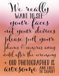 Wedding Photography 6 - Orange and Pink