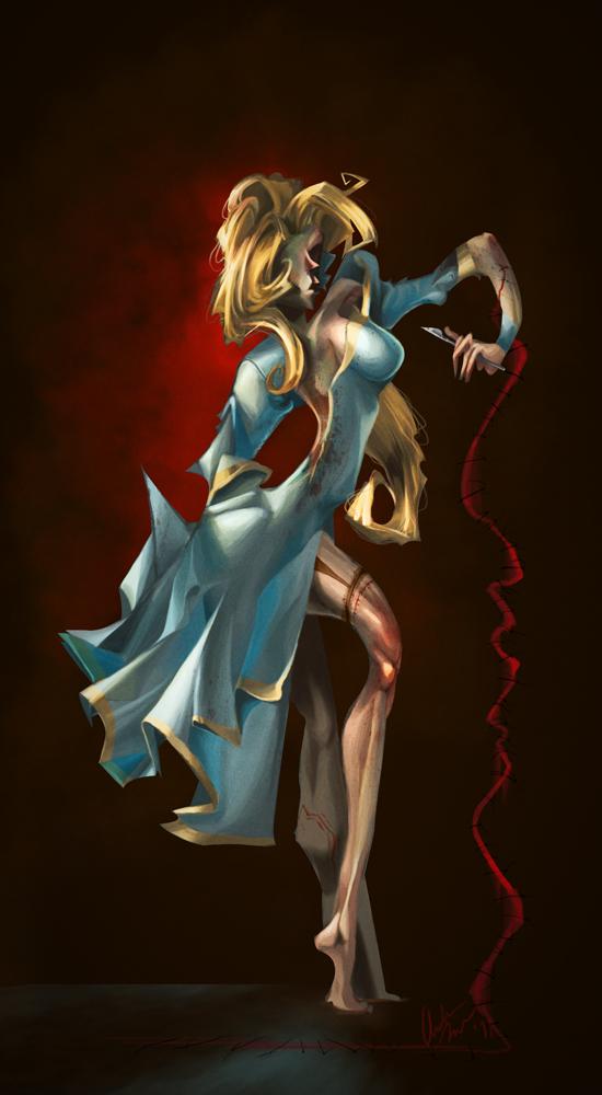 Steinman's Aphrodite by scribblecloud