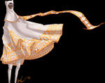 white cloak by scribblecloud