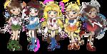 SailorDisney princess by NINJALI8HT