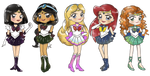SailorDisney princess 2 by NINJALI8HT