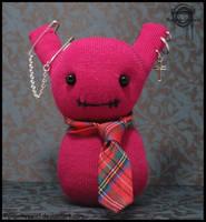 Stygma, Punk Sock Doll by Gloomyswirl