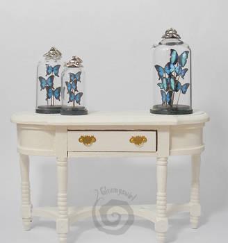 Miniature Butterflies Glass Dome Pendants by Gloomyswirl
