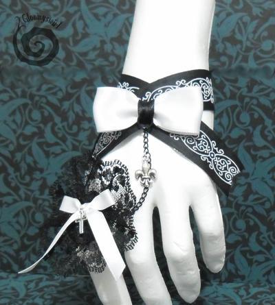 Classic Lolita Slave Bracelet by Gloomyswirl