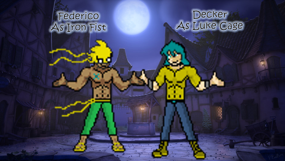 Decker + Federico's Halloween Costumes Profile Pic by ZutzuCrobat55