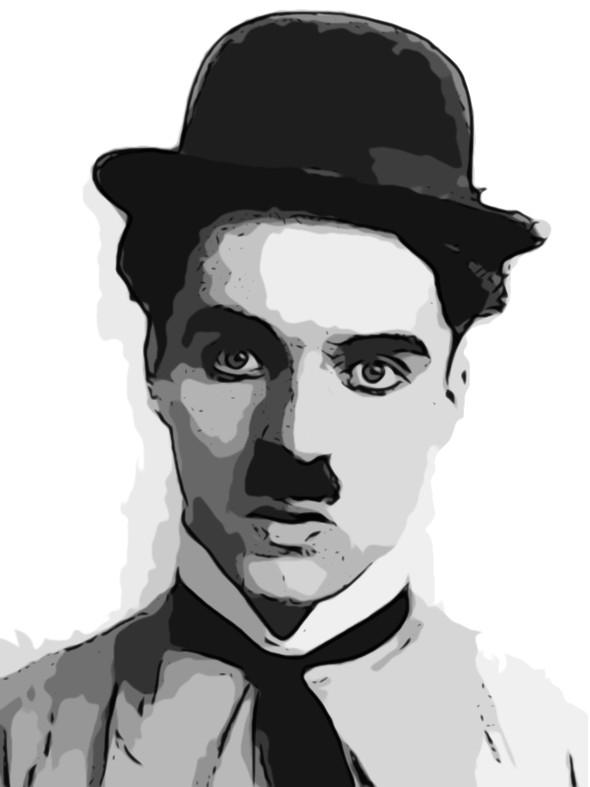 Charlie Chaplin by zie...
