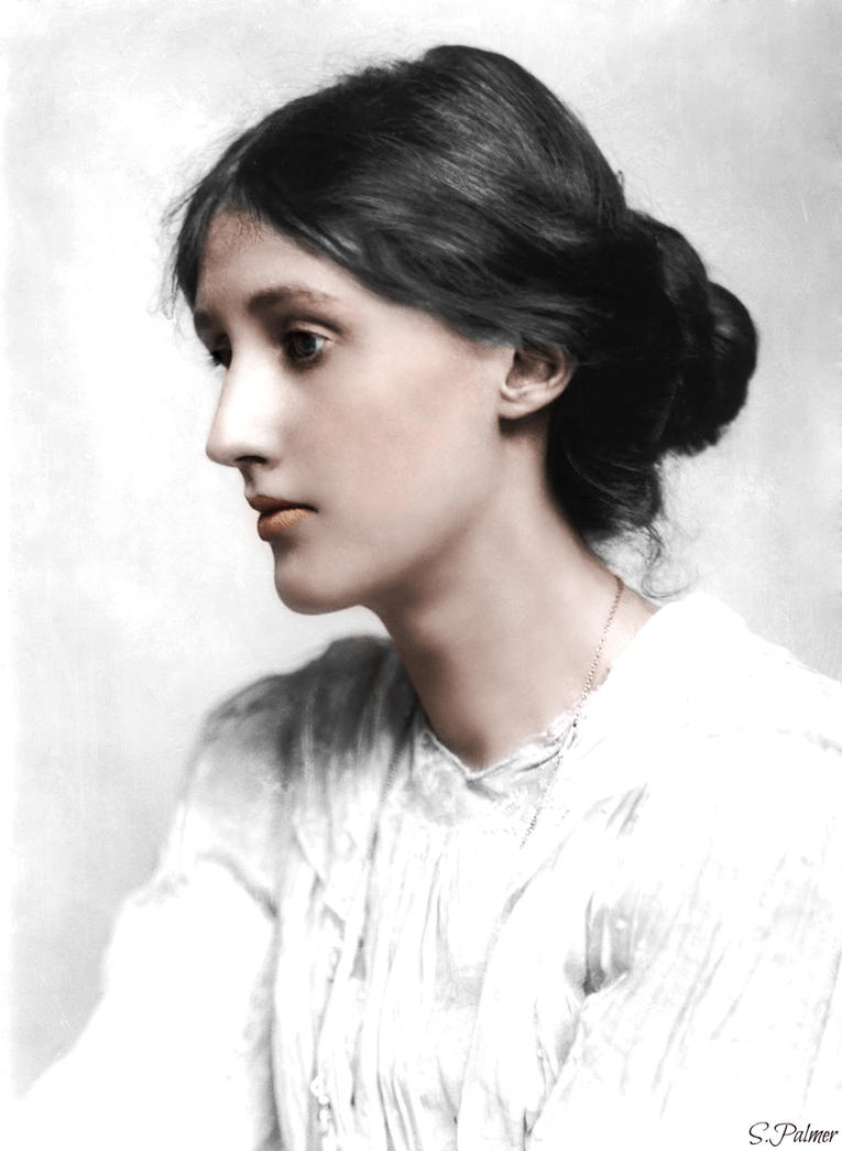 Virginia Woolf by ziegfeldfollies