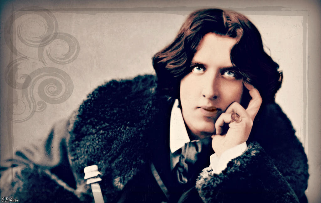 Oscar Wilde by ziegfeldfollies