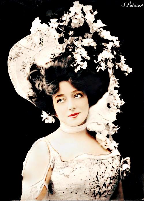 Ziegfeld Girls-Anna Held by ziegfeldfollies