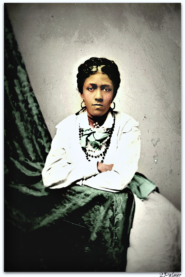 African American Woman 1870's by ziegfeldfollies