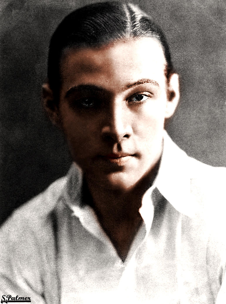 Rudolph Valentino by ziegfeldfollies