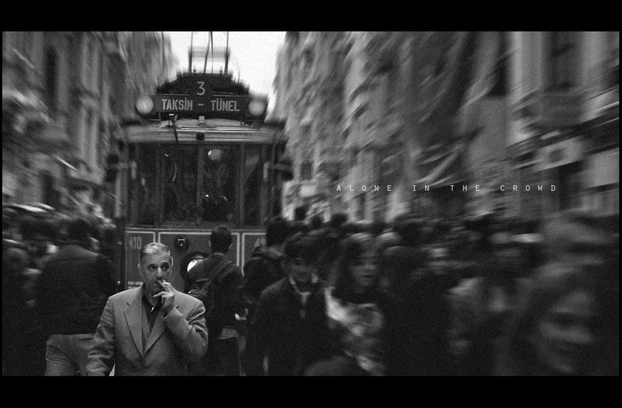Alone in the Crowd by onurkorkmaz