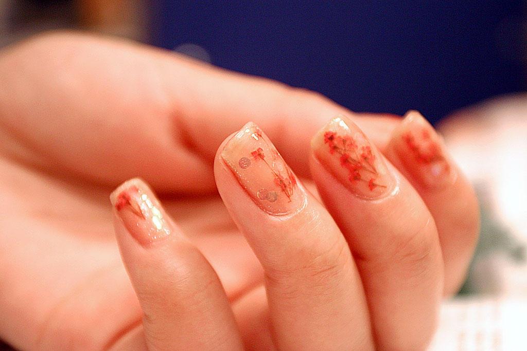 Nail Art Dry Flowers: D vivid dry dried flower nail art decoration ...