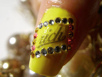 Nail Art - Rich Girl III