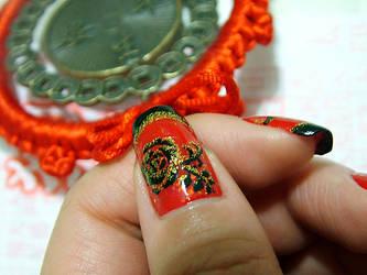 Nail Art - Chi-Pao I