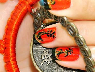 Nail Art - Chi-Pao II