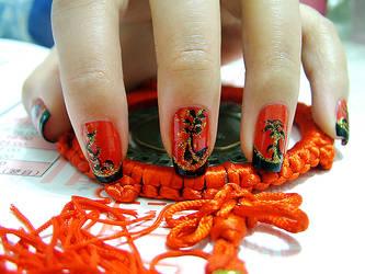 Nail Art - Chi-Pao III