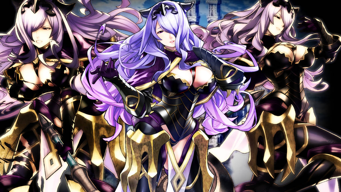Fire Emblem Heroes - Camilla Wallpaper by AuroraMaster