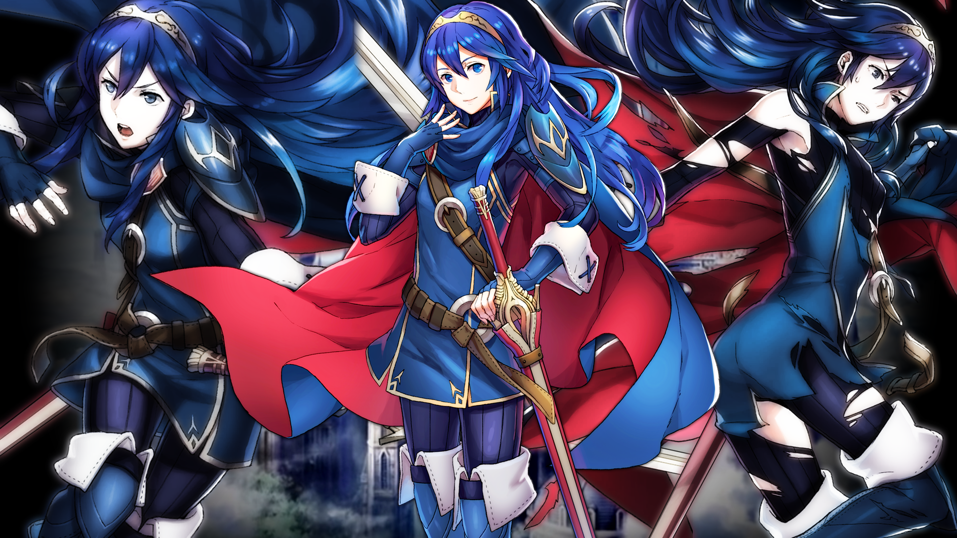 Fire Emblem Heroes - Lucina Wallpaper by AuroraMaster on ...