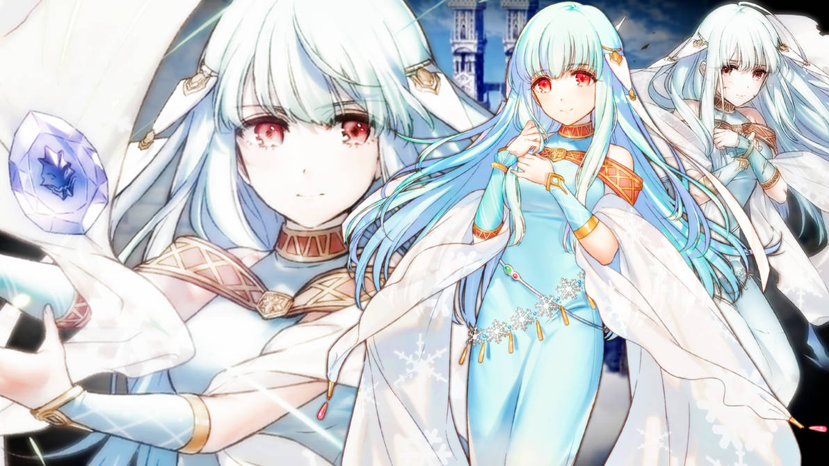 Fire Emblem Heroes Ninian Wallpaper By Auroramaster On Deviantart