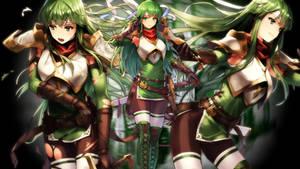 Fire Emblem Heroes - Palla Wallpaper by AuroraMaster