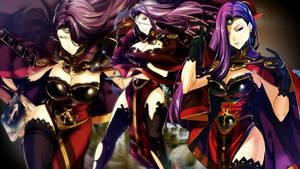 Fire Emblem Heroes - Sonya Wallpaper by AuroraMaster